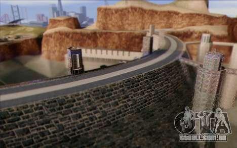 Nova barragem para GTA San Andreas