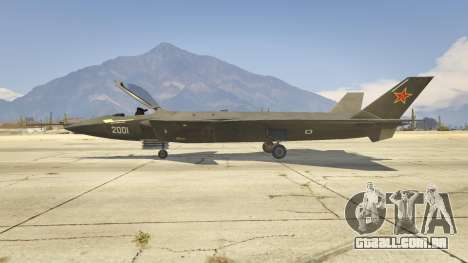 Chengdu J-20 para GTA 5