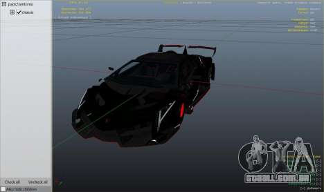 GTA 5 2013 Lamborghini Veneno HQ EDITION vista lateral direita