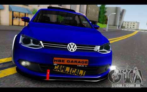 Volkswagen Jetta para GTA San Andreas vista traseira