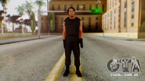Dean Ambrose para GTA San Andreas segunda tela