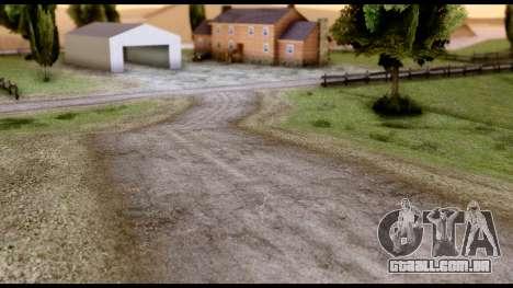 New HD Roads para GTA San Andreas terceira tela