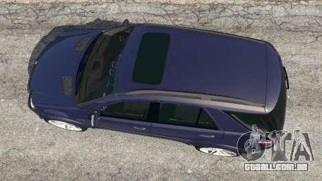 GTA 5 Mercedes-Benz ML63 (W164) 2009 voltar vista