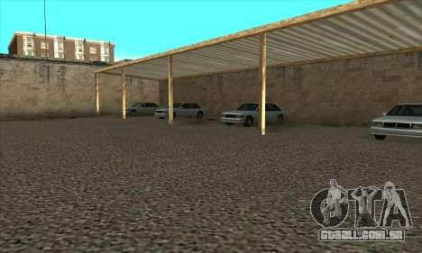 Renovação de escolas de condução em San Fierro para GTA San Andreas quinto tela