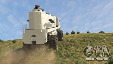 GTA 5 Monster Train vista lateral direita
