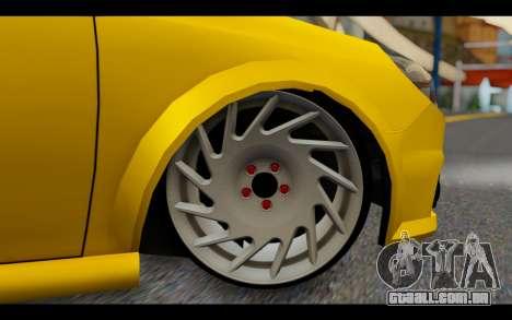 Opel Vectra Special para GTA San Andreas traseira esquerda vista