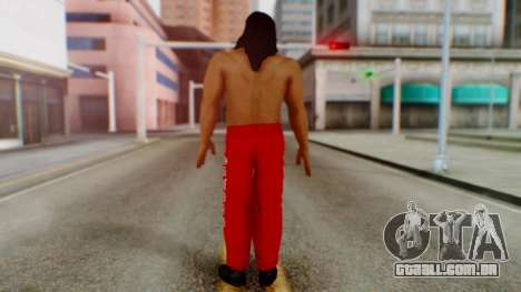 The Great Khali para GTA San Andreas terceira tela