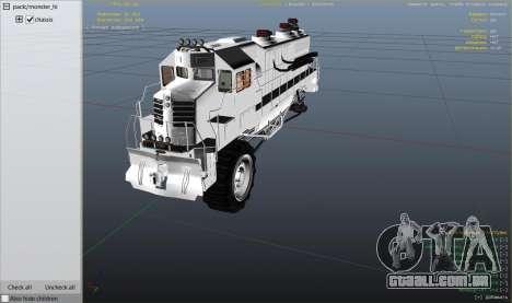 Roda GTA 5 Monster Train