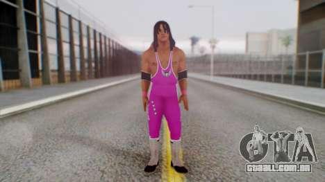 Bret Hart 1 para GTA San Andreas segunda tela