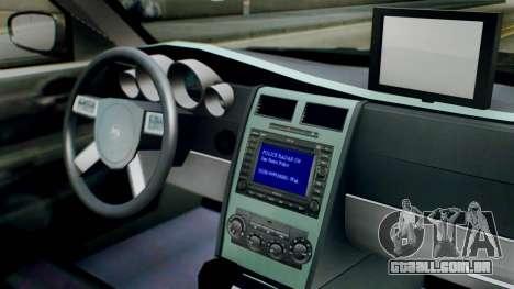 New Police LV para GTA San Andreas vista direita