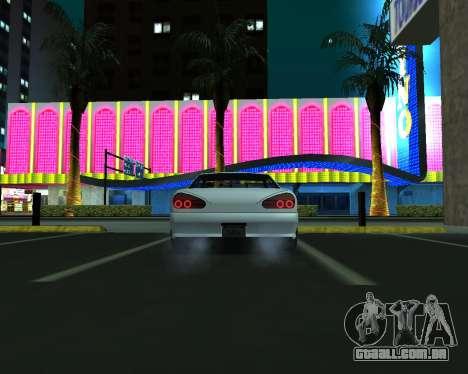 Elegy C35 para GTA San Andreas vista traseira