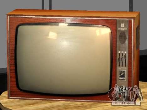 TV Bétula-212 para GTA San Andreas segunda tela