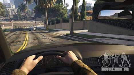 GTA 5 Mercedes-Benz S600 v1.1 traseira direita vista lateral