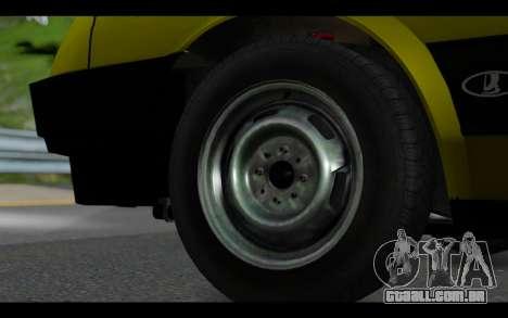 Lada Samara para GTA San Andreas vista direita