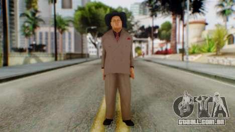 WWE Jim Ross para GTA San Andreas segunda tela