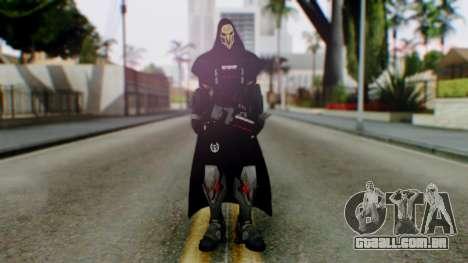 Reaper - Overwatch para GTA San Andreas segunda tela