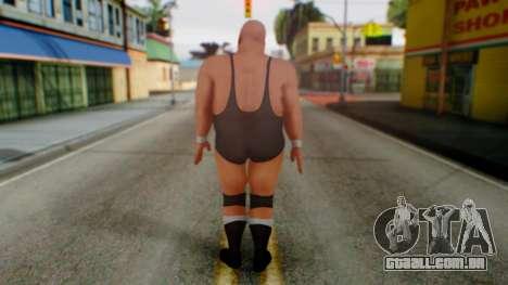 K Kong Bundy para GTA San Andreas terceira tela