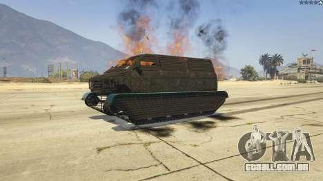 GTA 5 Police Transporter Tracked voltar vista
