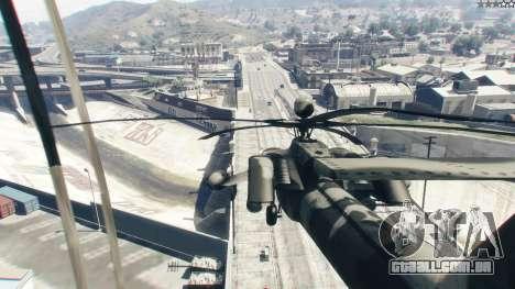 GTA 5 Mi-28 caçador de Noite quinta imagem de tela