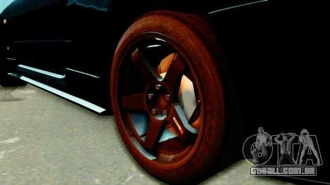 Nissan Skyline GT-R Nismo Tuned para GTA San Andreas traseira esquerda vista