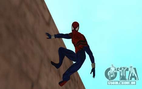 O sensacional Homem-Aranha, Ben Reilly por Robin para GTA San Andreas segunda tela