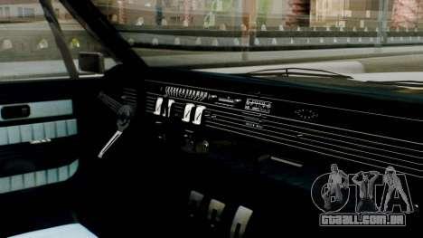 GTA 5 Vapid Chino Tunable IVF PJ para GTA San Andreas vista direita