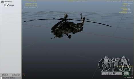 GTA 5 Mi-28 caçador de Noite nono screenshot