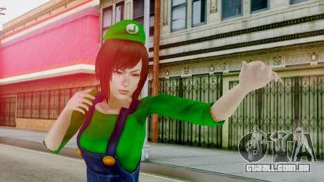 Fatal Frame 4 Misaki Luigi Clothes para GTA San Andreas