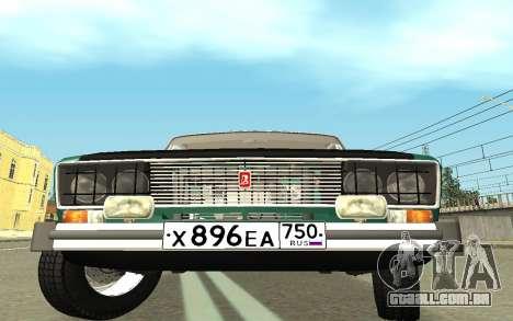 VAZ 2103 Sport tuning para GTA San Andreas vista direita