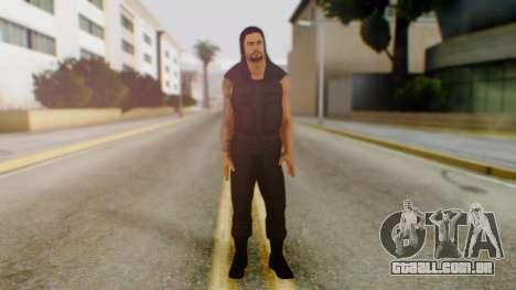 Roman Reigns para GTA San Andreas segunda tela