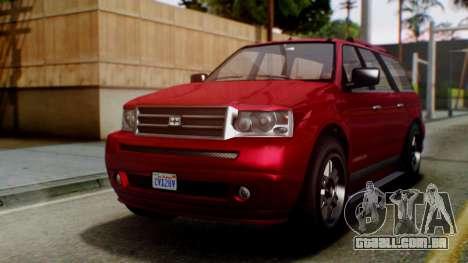 GTA 5 Dundreary Landstalker para GTA San Andreas