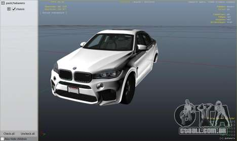 GTA 5 BMW X6M F16 Final vista lateral direita