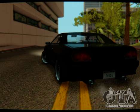 Elegy Stock HD by Balalaika para GTA San Andreas esquerda vista