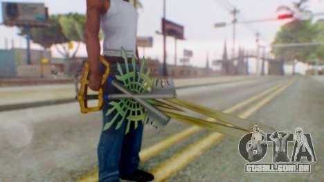 KHBBSFM - X-Blade para GTA San Andreas