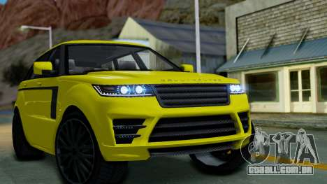 GTA 5 Gallivanter Baller LE para GTA San Andreas