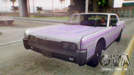 GTA 5 Vapid Chino Tunable PJ para vista lateral GTA San Andreas