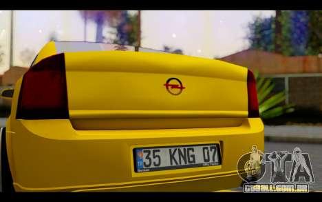 Opel Vectra Special para GTA San Andreas vista interior