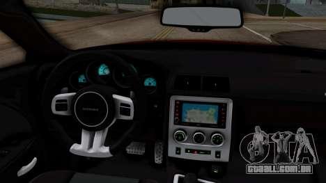 Dodge Challenger SRT-8 2010 para GTA San Andreas vista direita