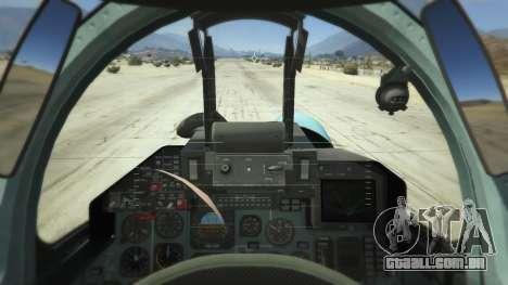 GTA 5 Su-33 terceiro screenshot