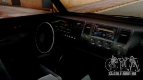 GTA 5 Rental Shuttle Bus Touchdown Livery para GTA San Andreas vista direita