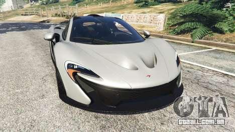 McLaren P1 2015 para GTA 5