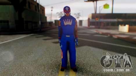Rey Misterio para GTA San Andreas segunda tela