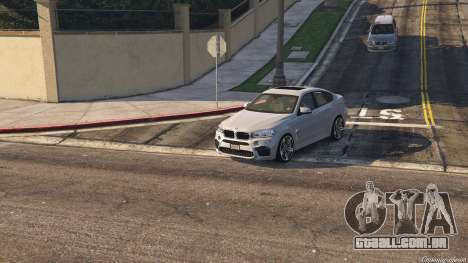 GTA 5 BMW X6M F16 Final voltar vista