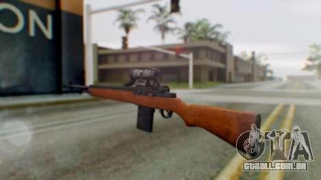 Arma2 M14 Assault Rifle para GTA San Andreas segunda tela