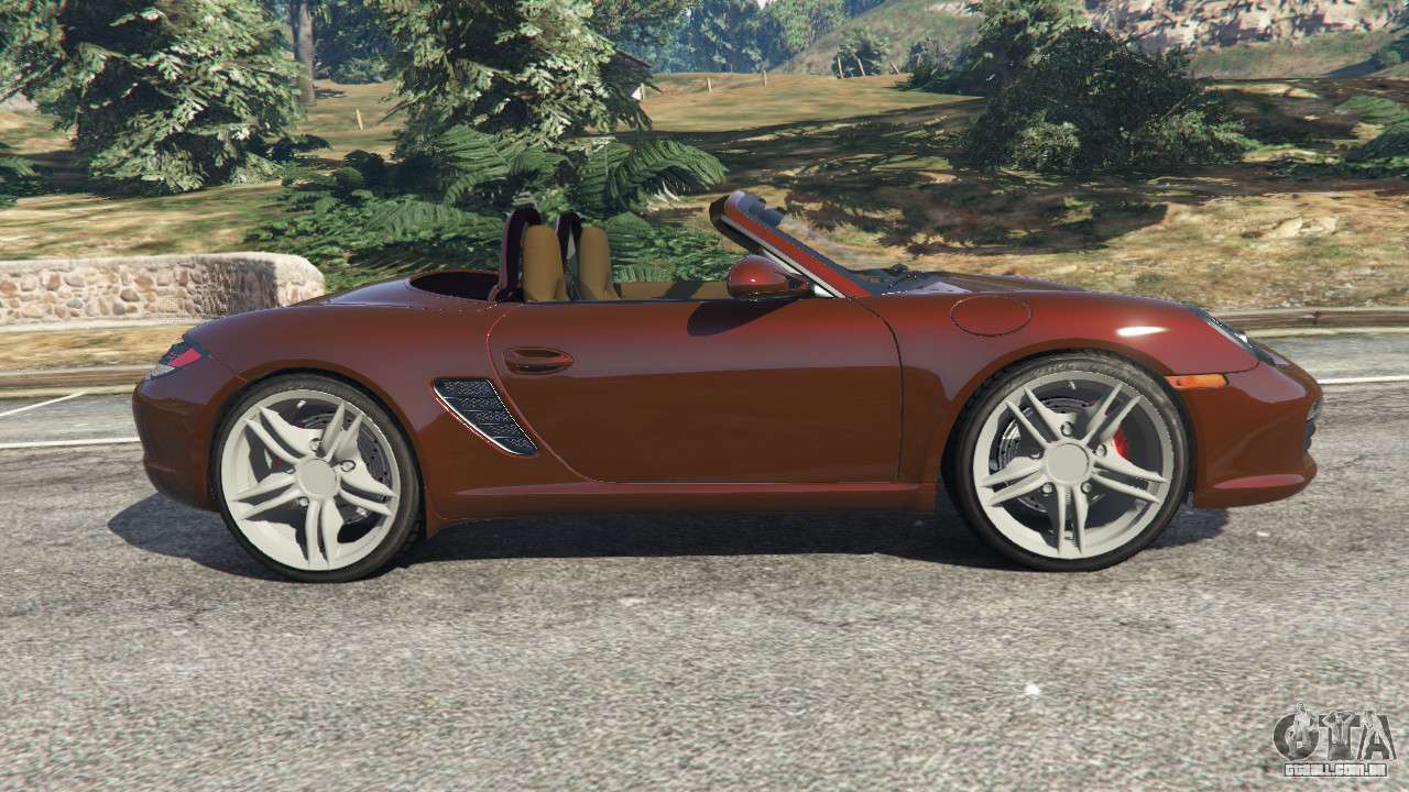 porsche boxster s 987 2010 para gta 5. Black Bedroom Furniture Sets. Home Design Ideas