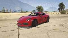 2016 Porsche Cayman GT4 v1.0