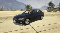 Lexus IS300 Tunable 1.0 para GTA 5