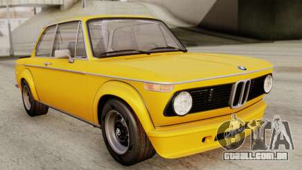 BMW 2002 Turbo 1973 Stock para GTA San Andreas