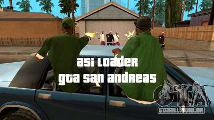 ASI Loader para GTA San Andreas