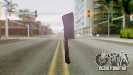 Vice City Meat Cleaver para GTA San Andreas